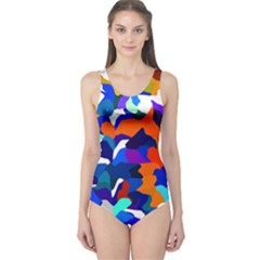 Classic New York Cty13 One Piece Swimsuit