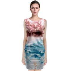 Tie Dye2 Classic Sleeveless Midi Dress by Wanni