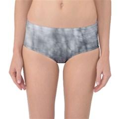 Obscure Mid Waist Bikini Bottoms by RoseanneJonesPhotography