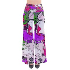 Ink Shapes                                                        Women s Chic Palazzo Pants by LalyLauraFLM