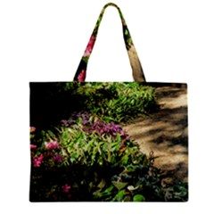 Shadowed Ground Cover Zipper Mini Tote Bag by ArtsFolly