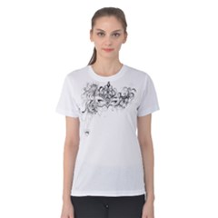 Hollow Women s Cotton Tee by Contest2482676