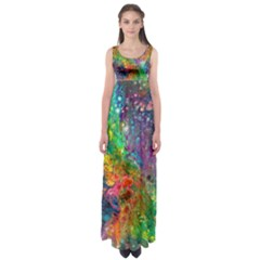 Reality is Melting Empire Waist Maxi Dress by KirstenStar