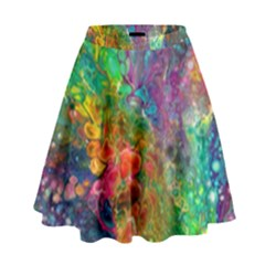 Reality Is Melting High Waist Skirt by KirstenStar