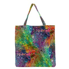 Reality Is Melting Grocery Tote Bag