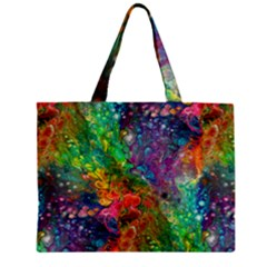 Reality Is Melting Zipper Mini Tote Bag by KirstenStar