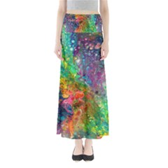 Reality Is Melting Maxi Skirts by KirstenStar