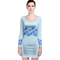 Elegant2 Long Sleeve Bodycon Dress by olgart