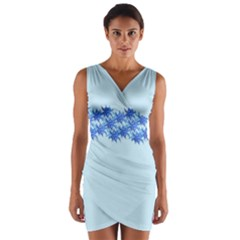 Elegant2 Wrap Front Bodycon Dress by olgart