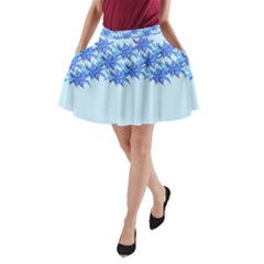 Elegant2 A Line Pocket Skirt