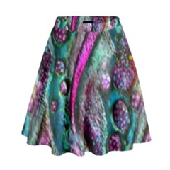 Ocean Jewels High Waist Skirt by KirstenStar