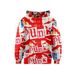 Punk Union Jack Kids  Pullover Hoodie