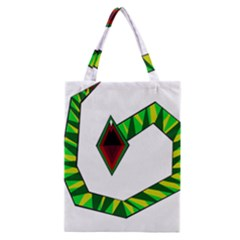 Decorative Snake Classic Tote Bag by Valentinaart