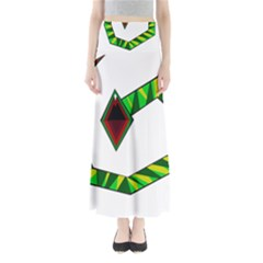 Decorative Snake Maxi Skirts by Valentinaart