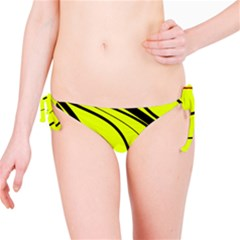 Yellow Decorative Design Bikini Bottom by Valentinaart