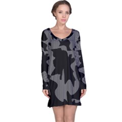 Decorative Elegant Design Long Sleeve Nightdress by Valentinaart