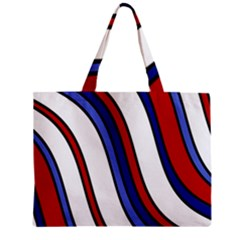 Decorative Lines Mini Tote Bag by Valentinaart