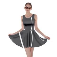 Black And White Elegant Design Skater Dress by Valentinaart
