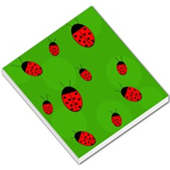 Ladybugs Small Memo Pads by Valentinaart