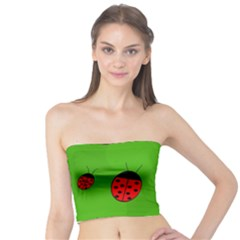 Ladybugs Tube Top by Valentinaart