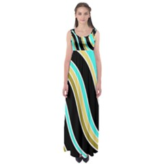 Elegant Lines Empire Waist Maxi Dress by Valentinaart