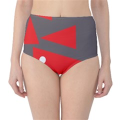 Decorative Abstraction High Waist Bikini Bottoms by Valentinaart