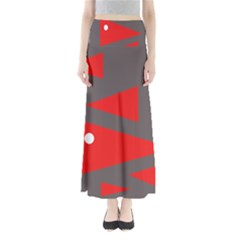 Decorative Abstraction Maxi Skirts by Valentinaart