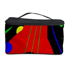 Abstract Guitar  Cosmetic Storage Case by Valentinaart