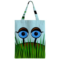 Snail Zipper Classic Tote Bag by Valentinaart