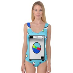 Washing Machine  Princess Tank Leotard