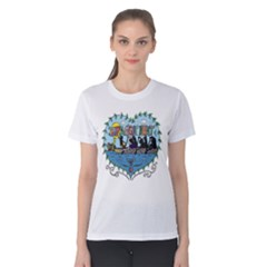Dragon Boat Women s Cotton Tee by kateyeung