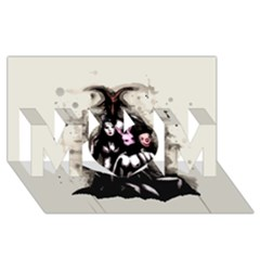 No Rest For The Wicked Mom 3d Greeting Card (8x4)