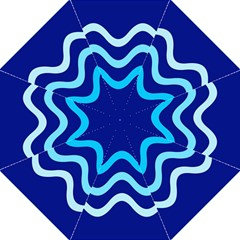 Blue Waves  Hook Handle Umbrellas (large) by Valentinaart