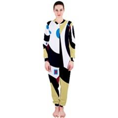 Digital Abstraction Onepiece Jumpsuit (ladies)  by Valentinaart
