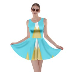 Abstract Landscape  Skater Dress by Valentinaart