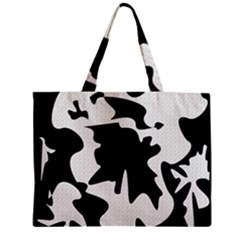 Black And White Elegant Design Mini Tote Bag by Valentinaart