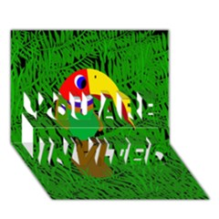 Toucan YOU ARE INVITED 3D Greeting Card (7x5)