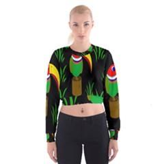 Toucan Women s Cropped Sweatshirt