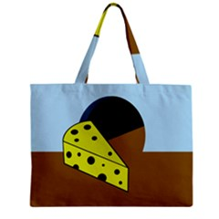Cheese  Mini Tote Bag by Valentinaart