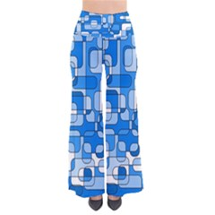 Blue Decorative Abstraction Pants by Valentinaart