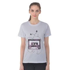 Music Keeps Me Going Women s Cotton Tee by Contest2490841