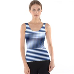Nautical Striped Tank Top by olgart
