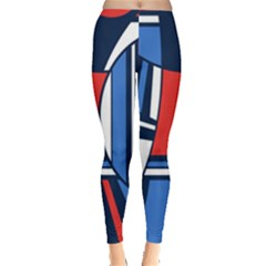 Abstract Nautical Leggings  by olgart