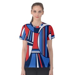 Abstract Nautical Women s Cotton Tee by olgart