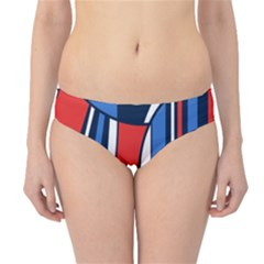 Abstract Nautical Hipster Bikini Bottoms by olgart