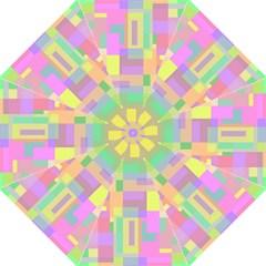 Pastel Colorful Design Straight Umbrellas by Valentinaart