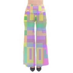 Pastel Colorful Design Pants by Valentinaart