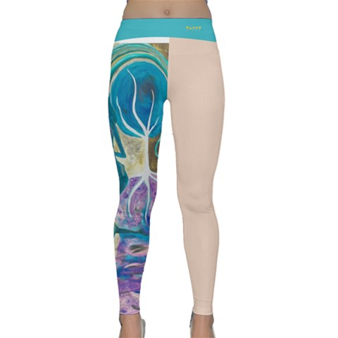 Classic Yoga Leggings Front