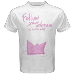 Paper Boat Men s Cotton Tee by Contest2492869
