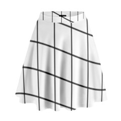 Simple Lines High Waist Skirt by Valentinaart
